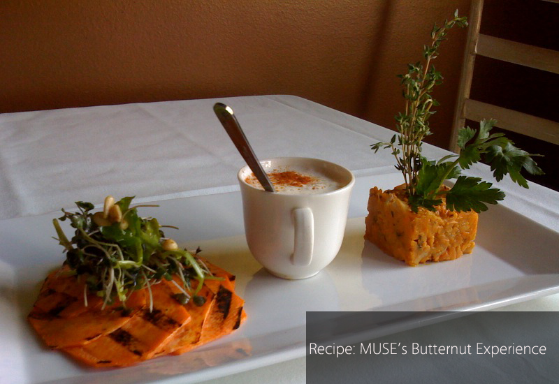 Recipe: MUSE Restaurant & Aquatic Lounge in Water Mill