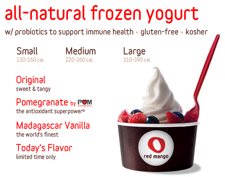 Coming Soon: Red Mango Frozen Yogurt in Manhasset and Merrick