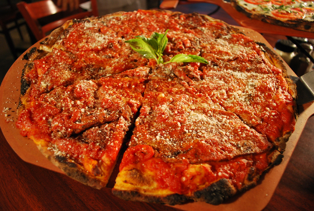 Food News: Anthony's Coal Fired Pizza Opens in Woodbury