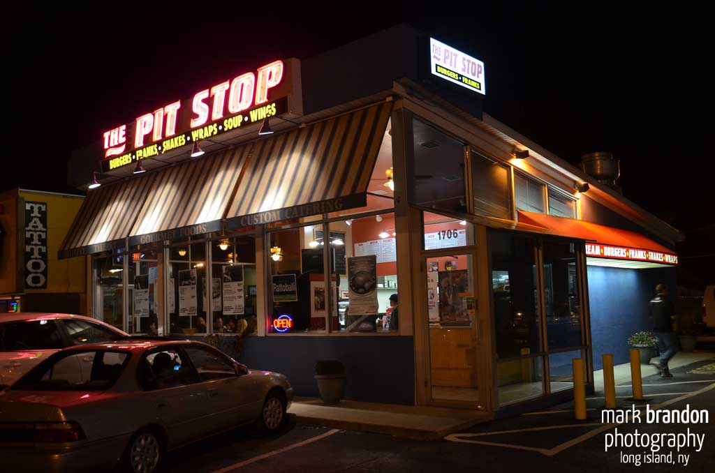 Pit Stop Exterior