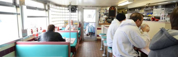 Mineola Diner Interior