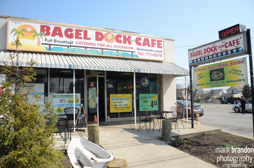 In Photos: Bagel Dock And Cafe In Freeport